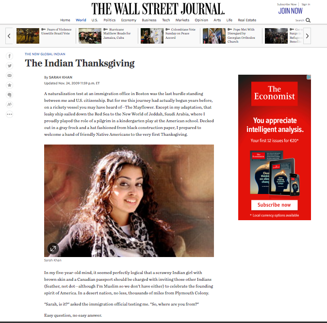 The Indian Thanksgiving