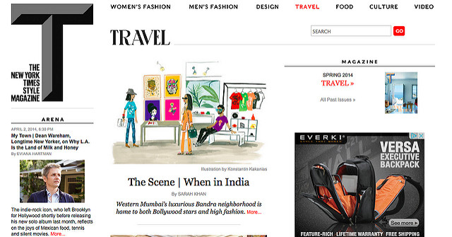 New York Times T Magazine: When in India