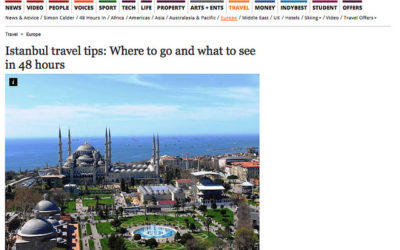 The Independent: 48 Hours in Istanbul