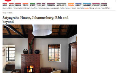 The Independent: Satyagraha House, Johannesburg: B&B and Beyond