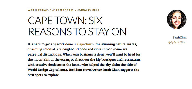 British Airways: Cape Town – Six Reasons to Stay On