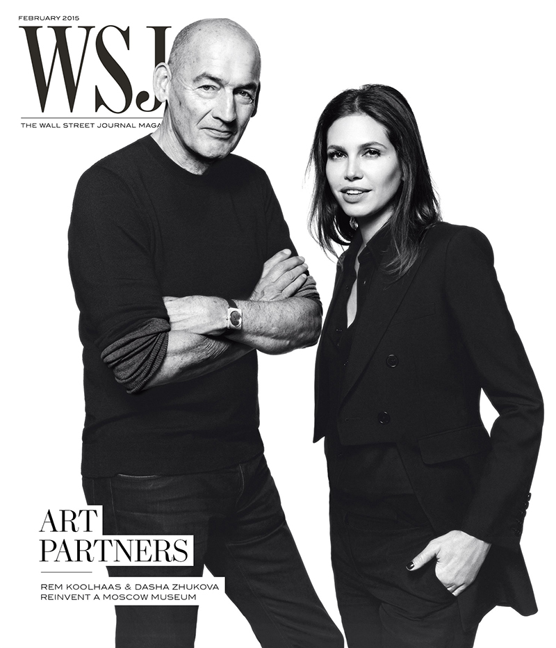 WSJ Magazine February 2015 cover