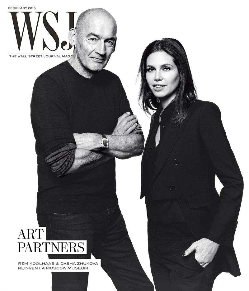 WSJ Magazine February 2015 cover