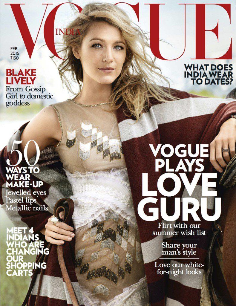 Vogue India Feb 2015 Cover