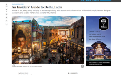 Wall Street Journal: An Insiders' Guide to Delhi