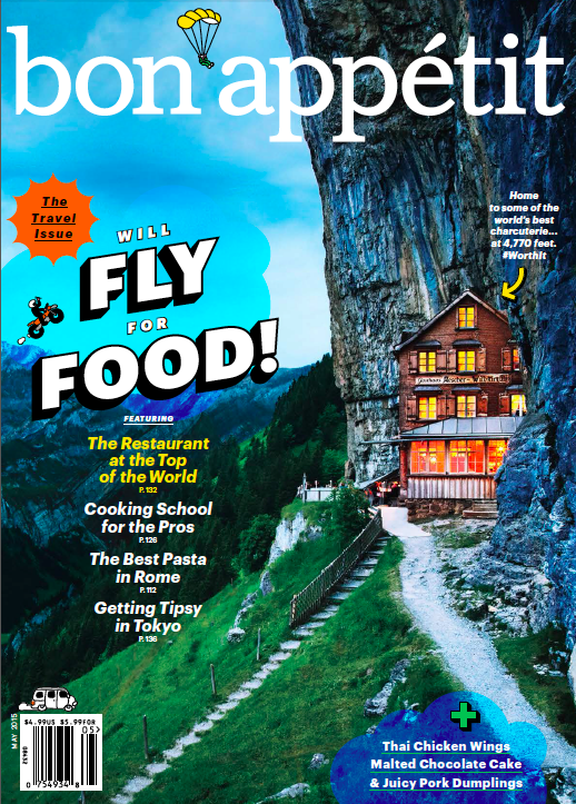 Bon Appetit May 2015 Cover