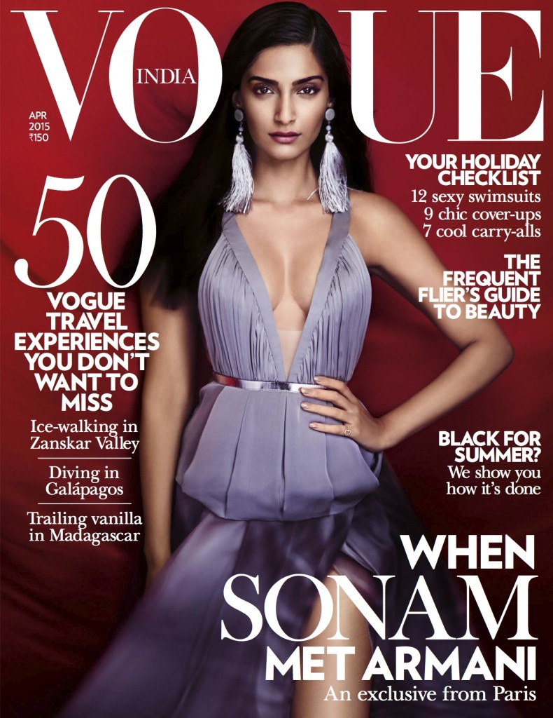 Vogue India April 2015 Cover