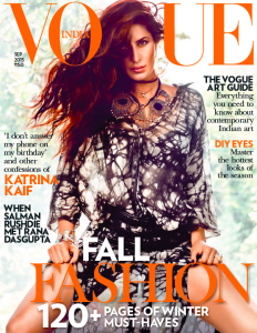 Vogue India Sept 2015 Cover