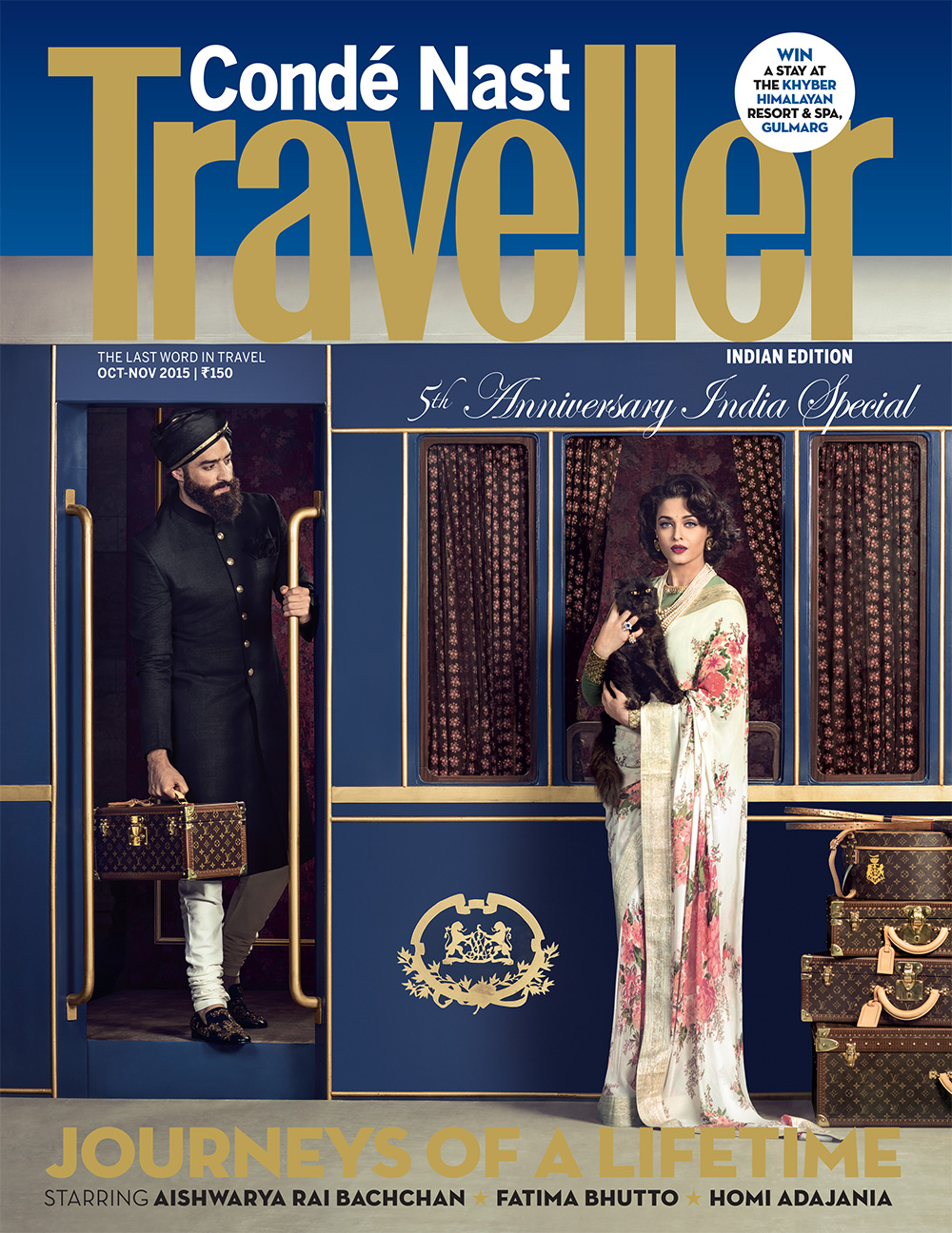 Condé Nast Traveller India: Two Articles