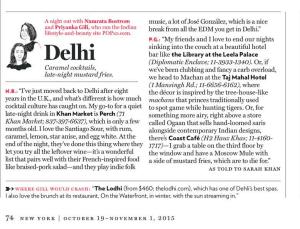 NY Mag Oct 2015 Delhi