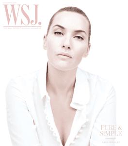 WSJ Magazine October 2015 cover
