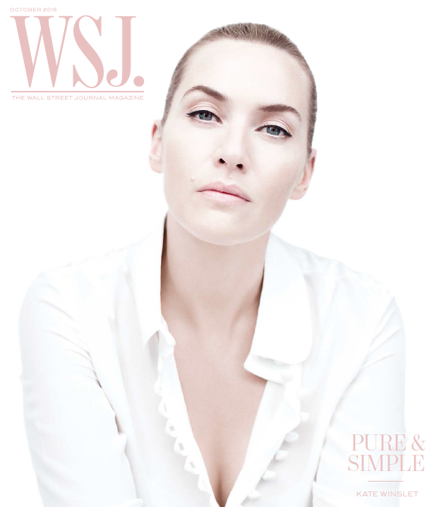 WSJ Magazine October 2015 cover