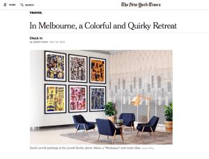 NYT 11:22:15 Larwill Melbourne