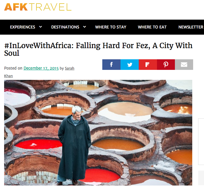 AFK Travel: Falling Hard for Fez, a City With Soul