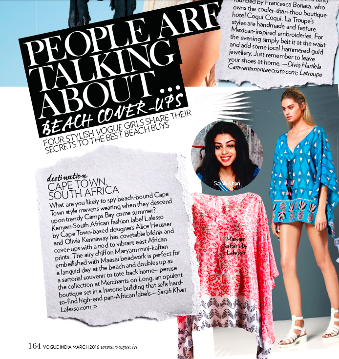 Vogue India: People Are Talking About