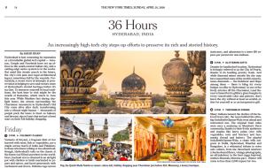 NYT Hyderabad