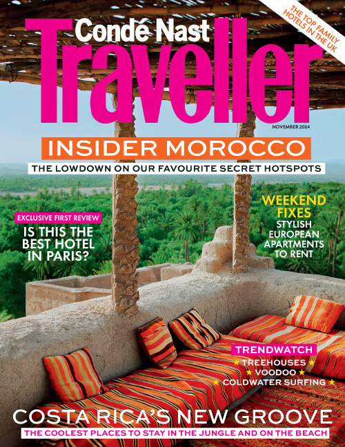 Condé Nast Traveller UK: Off the Wall