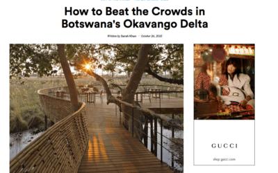 Condé Nast Traveler: Botswana's Okavango Delta