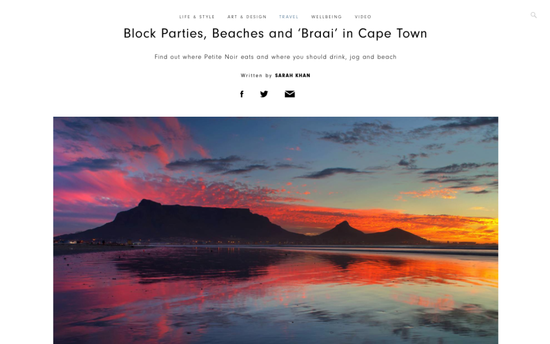 Amuse: Block Parties, Beaches and 'Braai' in Cape Town