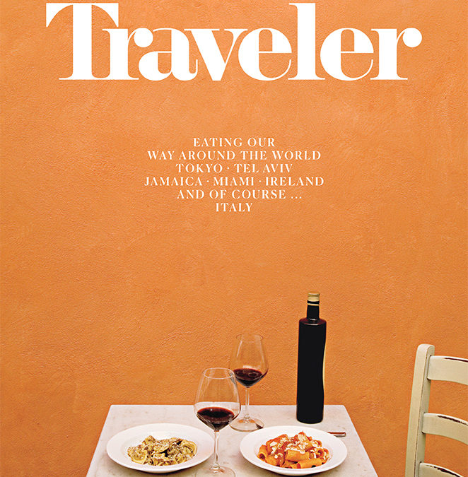 Condé Nast Traveler: Where in the World to Eat