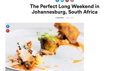 Condé Nast Traveler: The Perfect Long Weekend in Johannesburg