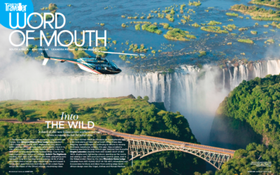 Condé Nast Traveller Middle East: Into the Wild
