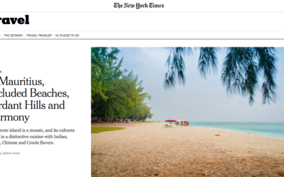 New York Times: In Mauritius, Secluded Beaches, Verdant Hills and Harmony