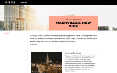 Skylark: Nashville's New Vibe