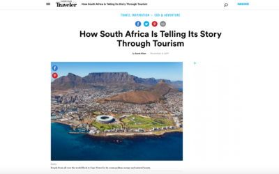 Condé Nast Traveler: How South Africa Is Telling Its Story Through Tourism