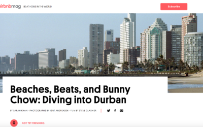 Airbnb Magazine: Beaches, Beats, and Bunny Chow: Diving into Durban