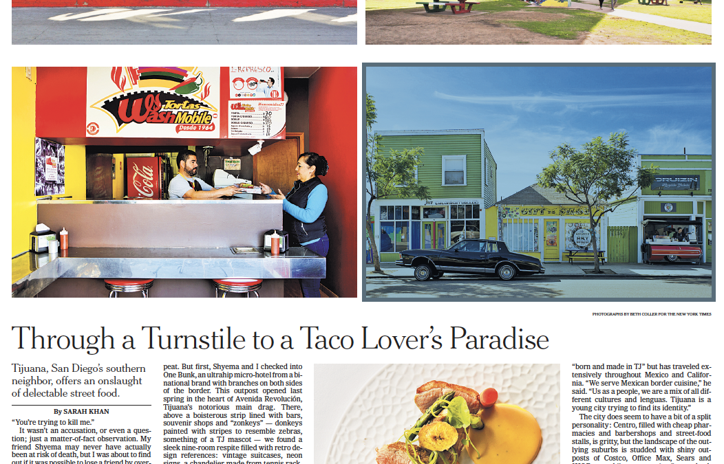 New York Times: Through a Turnstile to a Taco Lover's Paradise