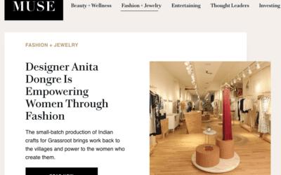Muse: Designer Anita Dongre Is Empowering Women Through Fashion