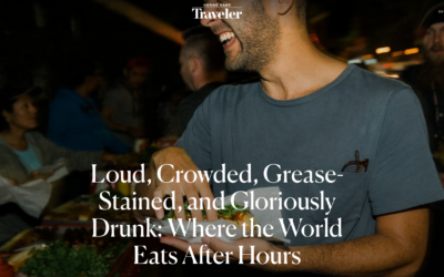 Condé Nast Traveler: Where the World Eats After Hours