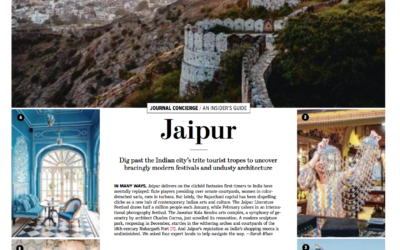 Wall Street Journal: Insider's Guide to Jaipur
