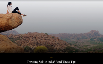 Condé Nast Traveler: Traveling Solo in India?
