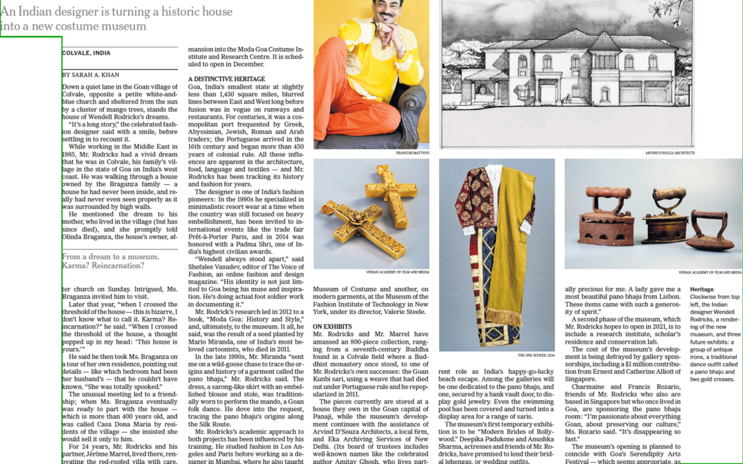 New York Times: Isn't Goa Style a Bikini? Not According to a New Museum