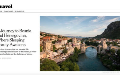 New York Times: Balkan Beauty, Amid Scars