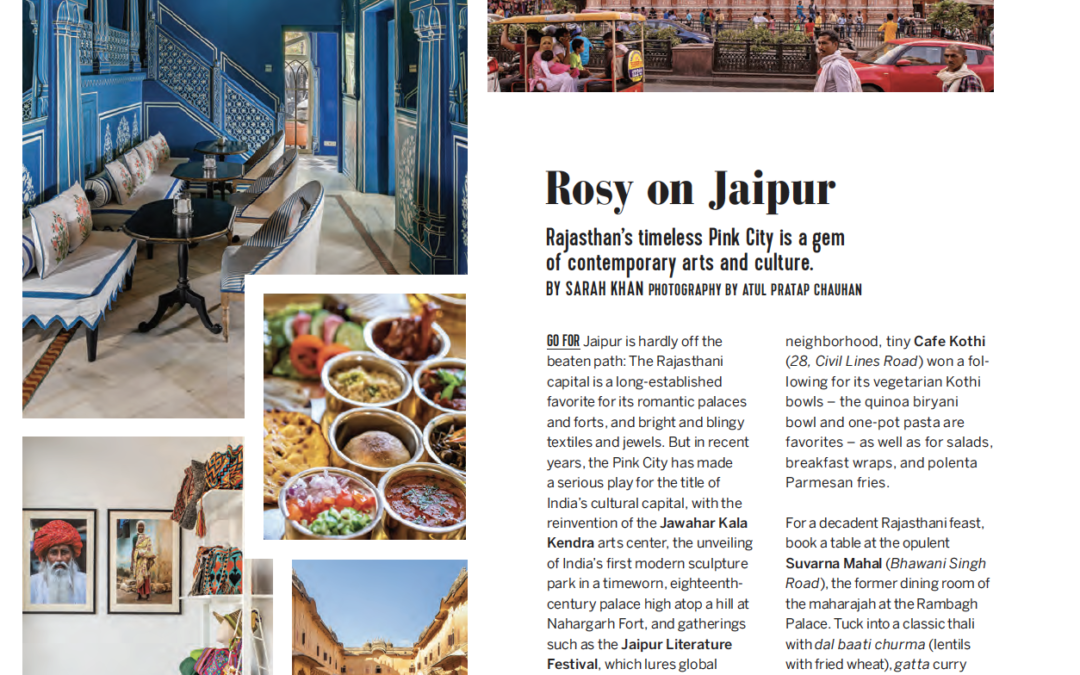Virtuoso Life: Rosy on Jaipur