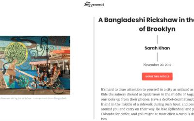 The Juggernaut: A Bangladeshi Rickshaw in the Midst of Brooklyn