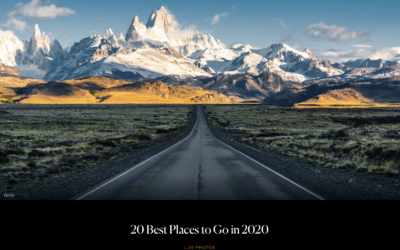 Condé Nast Traveler: 20 Best Places to Go in 2020