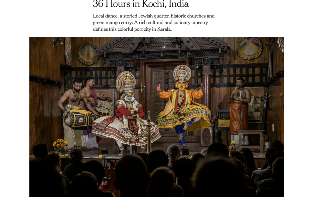 New York Times: 36 Hours in Kochi, India