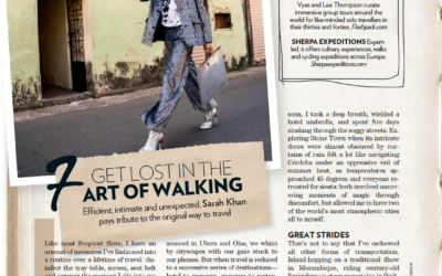 Vogue India: Get Lost in the Art of Walking