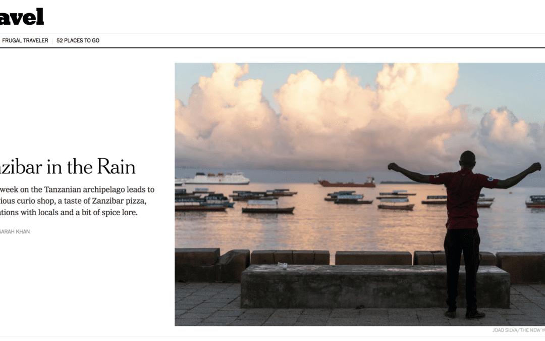 New York Times: Zanzibar in the Rain
