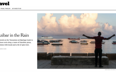 New York Times: Zanzibar in the Rain