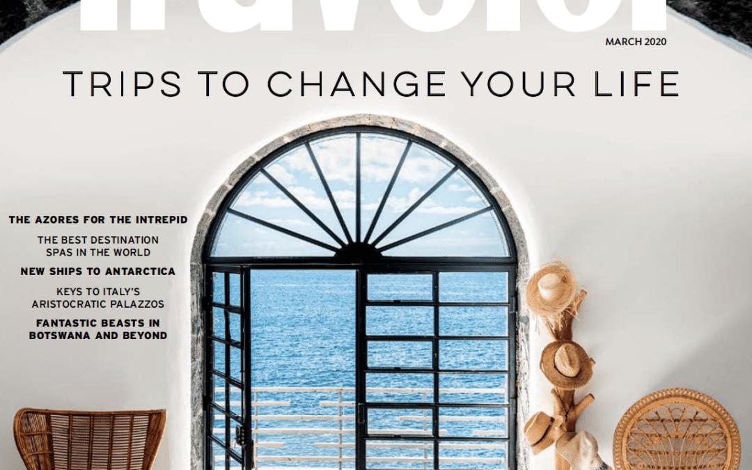 Condé Nast Traveler: Raise the Roof