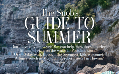 Town & Country: The Snob's Guide to Summer