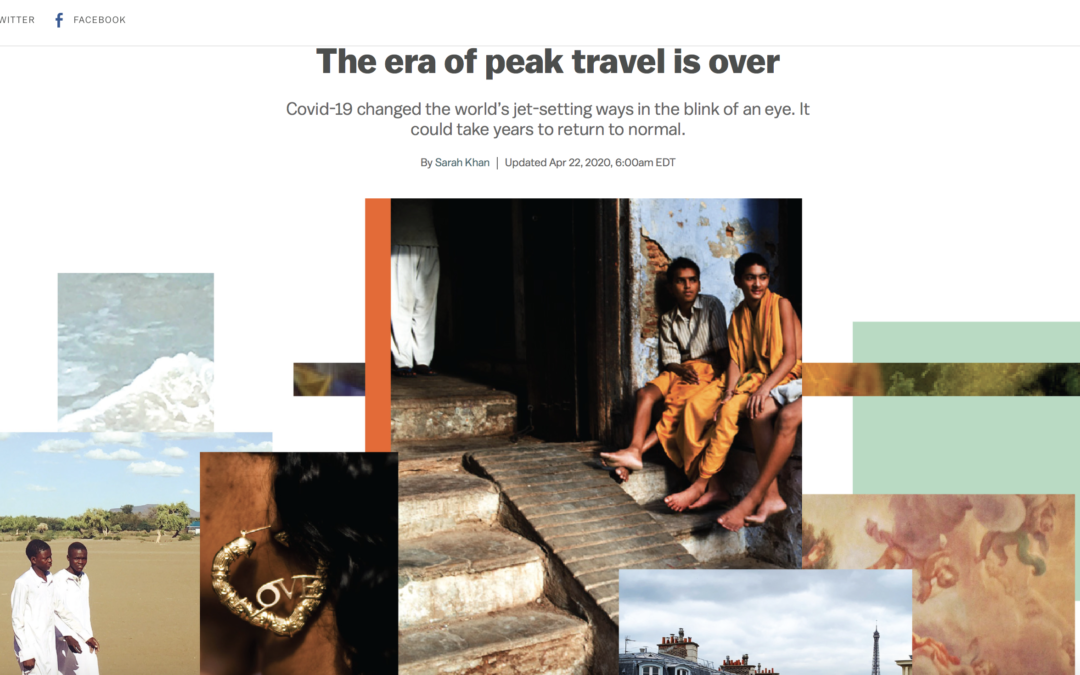 Vox: The Era of Peak Travel Is Over