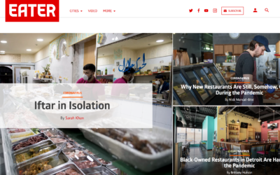 Eater.com: Iftar in Isolation