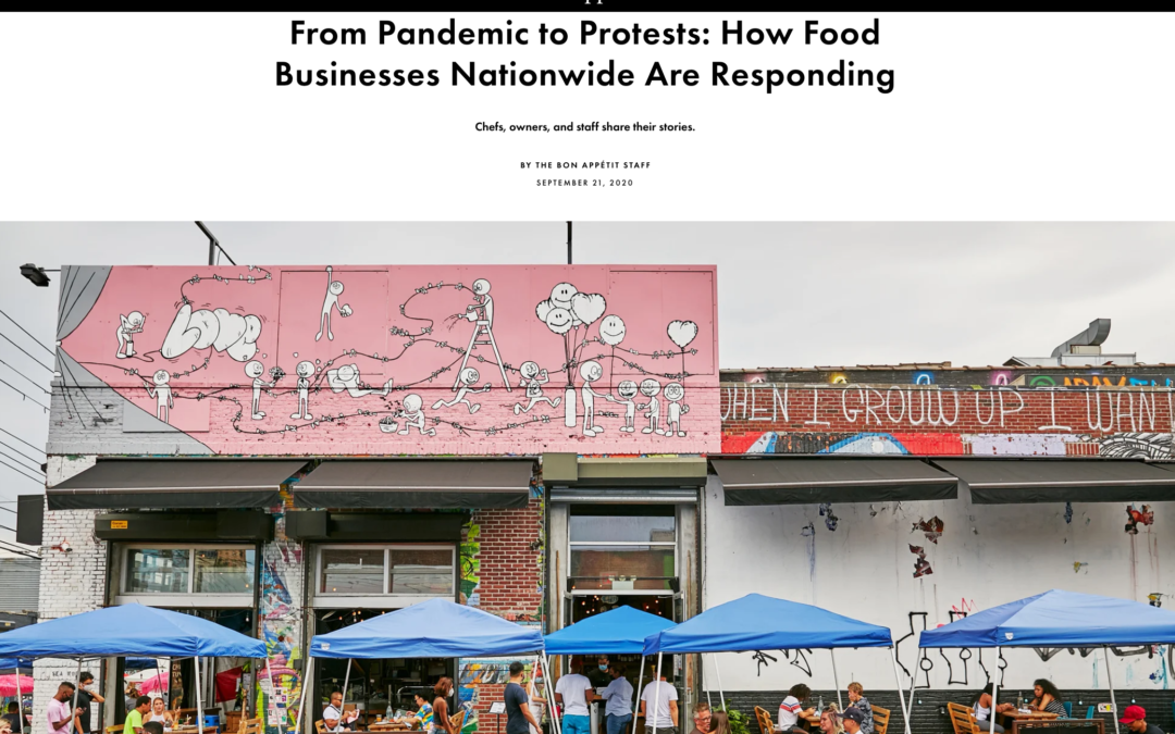 Bon Appetit: From Pandemic to Protests
