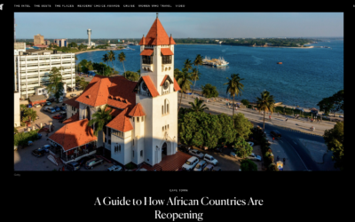 Condé Nast Traveler: A Guide to How African Countries Are Reopening